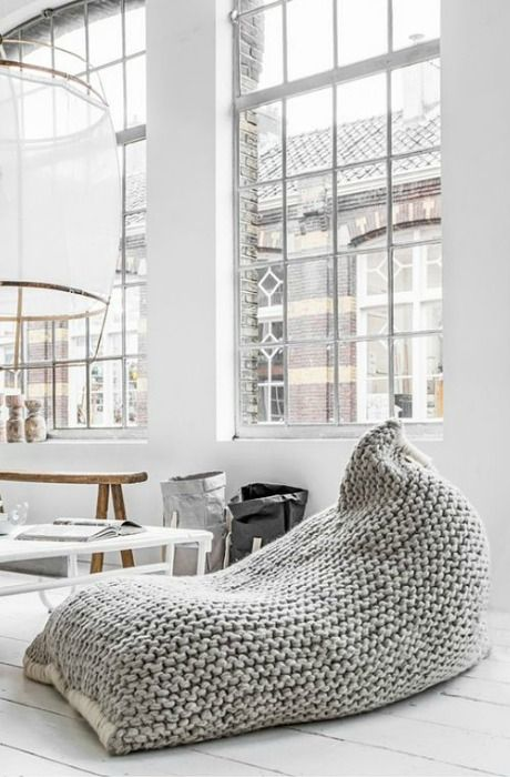 11 best puf images on Pinterest | Floor cushions, Knits and Trapillo