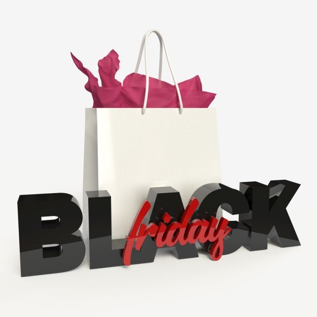 3d Black Friday Elements With Gift Bag Black And Red Letters Black Colorful Element Png Transparent Clipart Image And Psd File For Free Download Black Gold Christmas Black And Red Senior