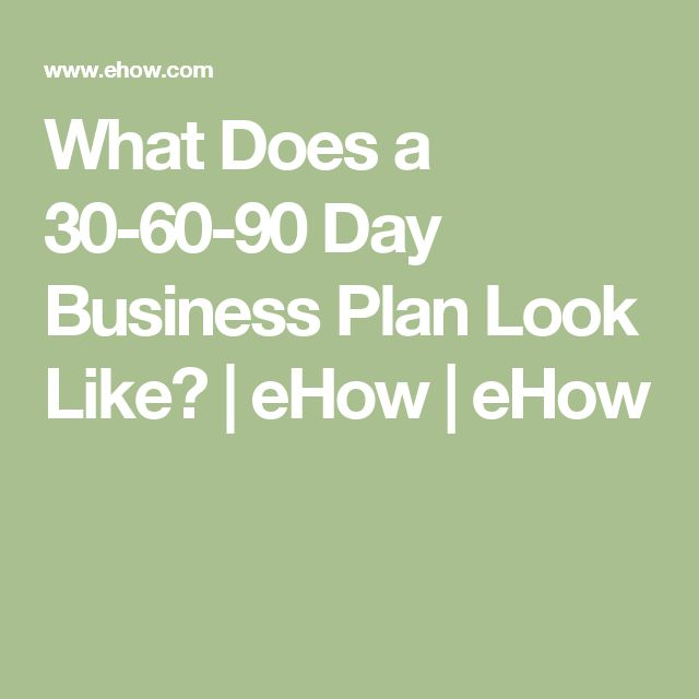 10 best effective 30 60 90 day plan images on pinterest 90 day what does a 30 60 90 day business plan look like ehow cheaphphosting Gallery