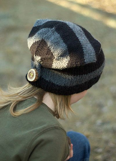 Goblin Hat, Love this! Cute, different and easy to knit!
