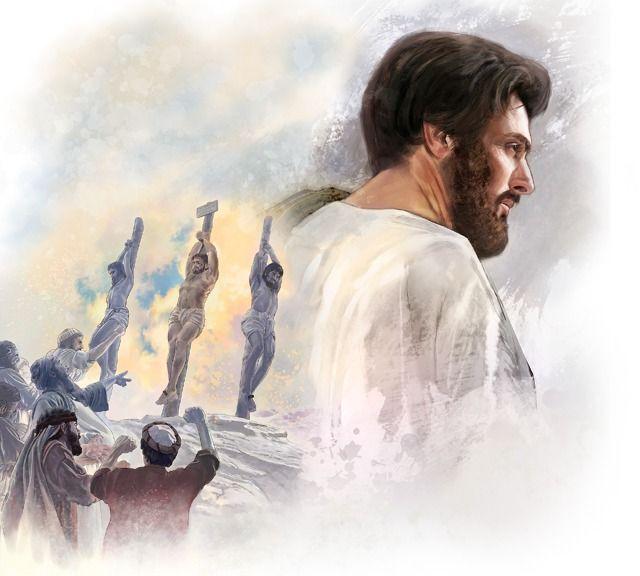 Jesús estaba decidido a ser leal a pesar de que sabía que iba a sufrir