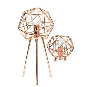 Bordslampa Diamond Koppar