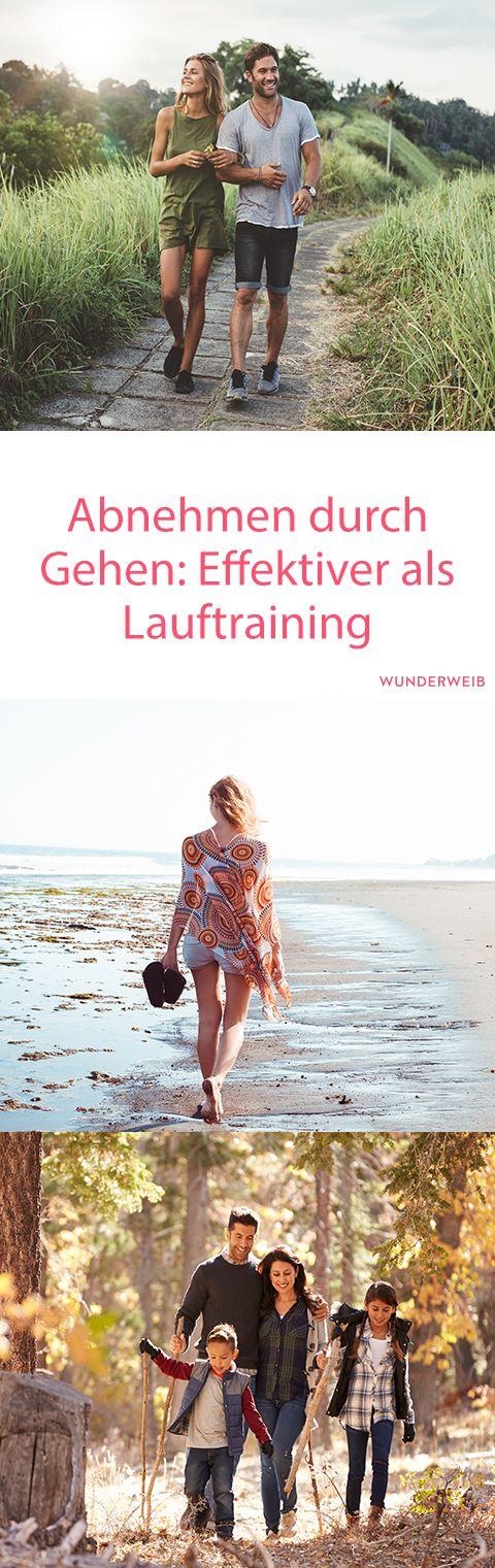 Gehen: effektiver als Lauftraining