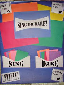 Sofia's Primary Ideas: Sing or Dare- Singing Time Idea