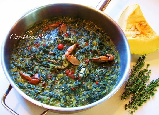 Trinidad Okra & Crab Callaloo - The True Spirit Of The Islands.