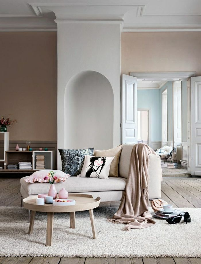 Best 25+ Teppich Beige Ideas On Pinterest   Beige Couch, Beige ... Wohnzimmer Einrichten Beige