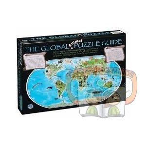 Build the Puzzle & Learn the World - Featuring 100 exotic animals from across the globe.