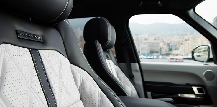 The Overfinch Range Rover Solitaire Interior in Ebony & Cirrus