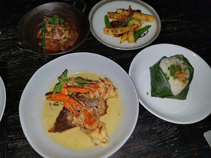 Delicious spread of dishes at Merah Putih