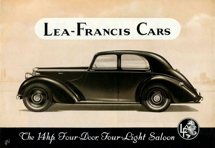 1948 Lea Francis 14hp Four-Door, Four-Light Saloon