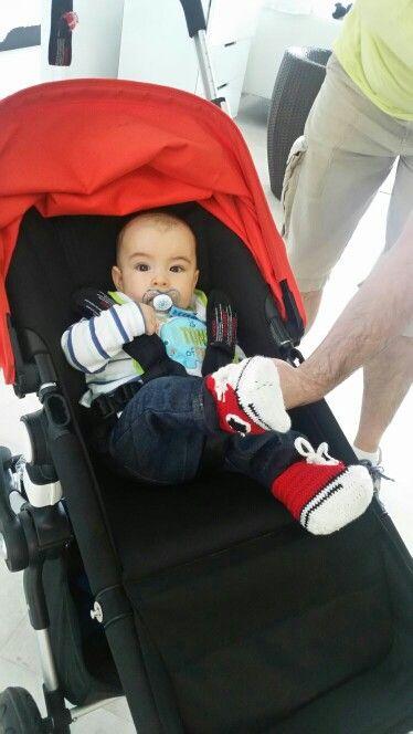 Los converse que hice para mi sobrino nieto Vicente