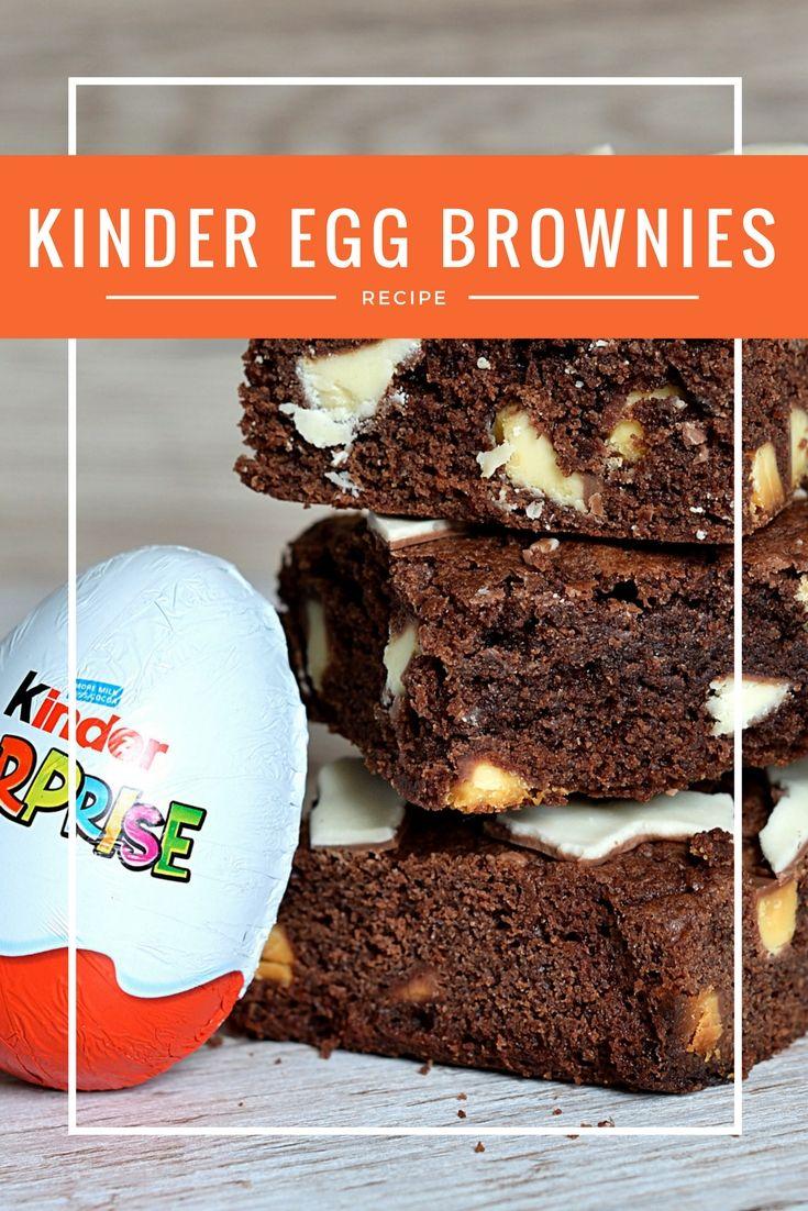 Kinder Egg Brownies