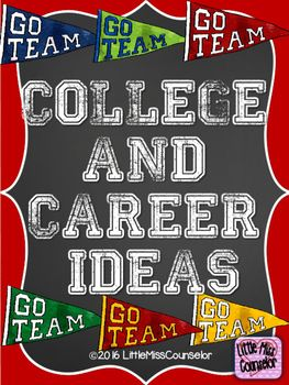 Tired of doing college t-shirt day to promote college and career day? Discover…                                                                                                                                                                                 More