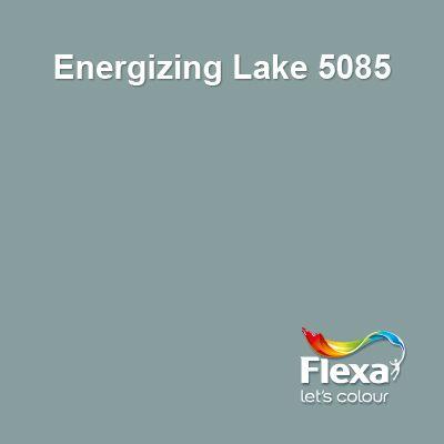 Ik vind deze heel mooi, maar naast de grijsblauw is die mssn een beetje te groen.   .Flex Couleur Locale kleur Energizing Lake 5085