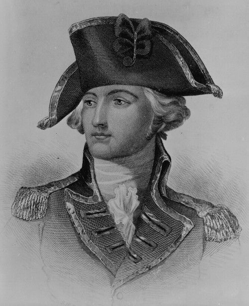 Gentleman Johnny Burgoyne, American Revolutionary War (revolutionary-war.net), who returned to England in disgrace after surrendering at the Battle of Saratoga.