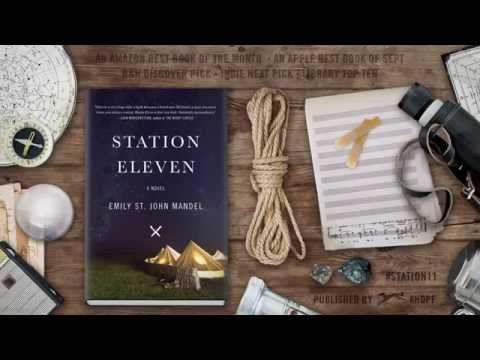 STATION ELEVEN by Emily St. John Mandel | Book Trailer (Adult Fiction)