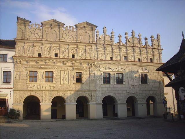 kamienice braci Przybyłów w Kazimierzu Dolnym
