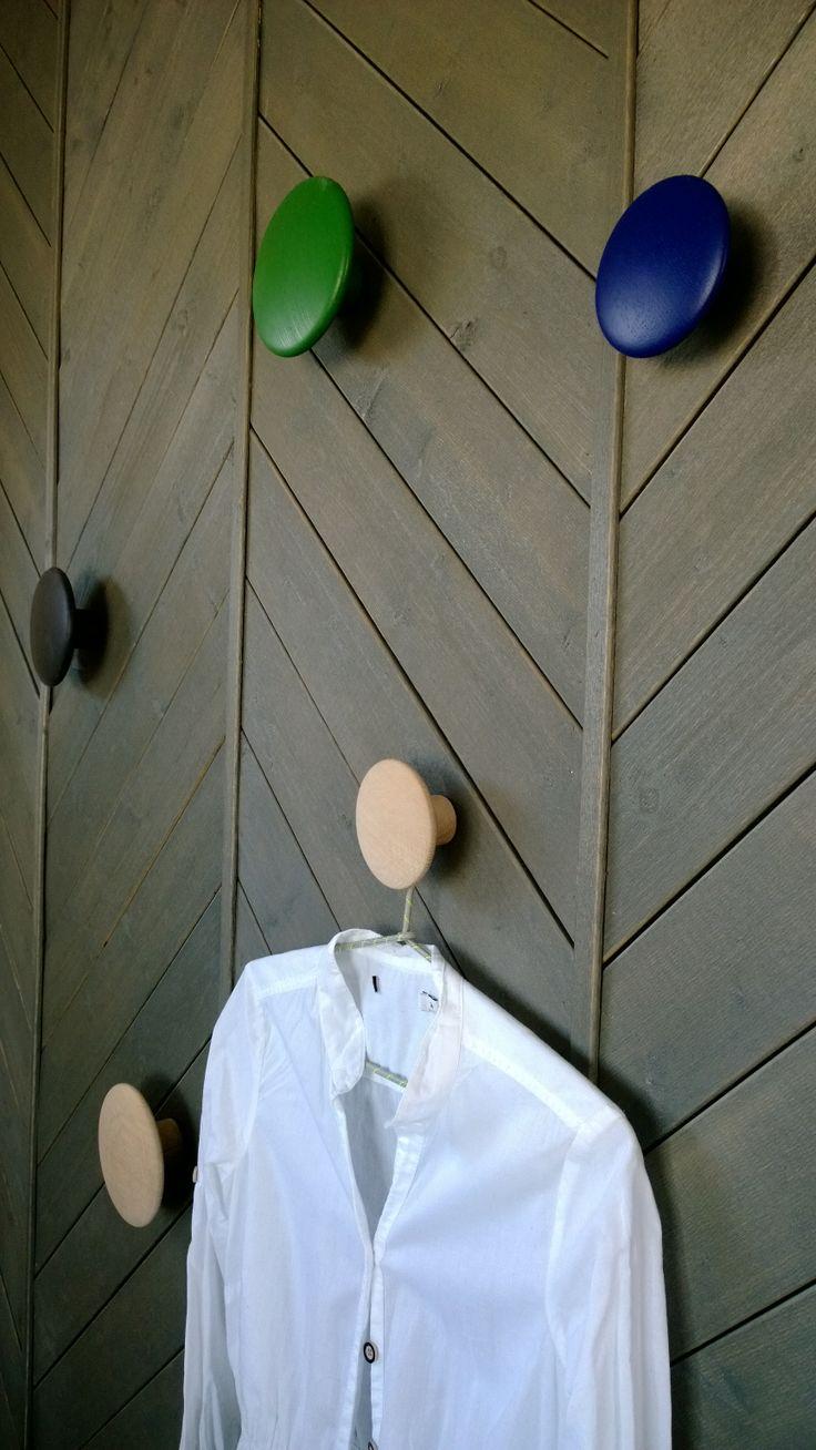 Makuuhuoneen nuppinaulakko, kohde Villa Aava / Kalajoen Loma-asuntomessut