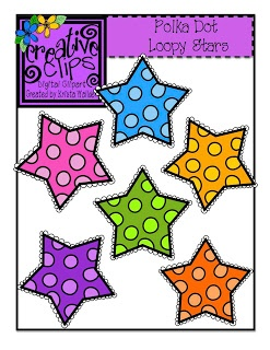 Three FREE Sets of star-studded clipart! Personal and Commercial use!
