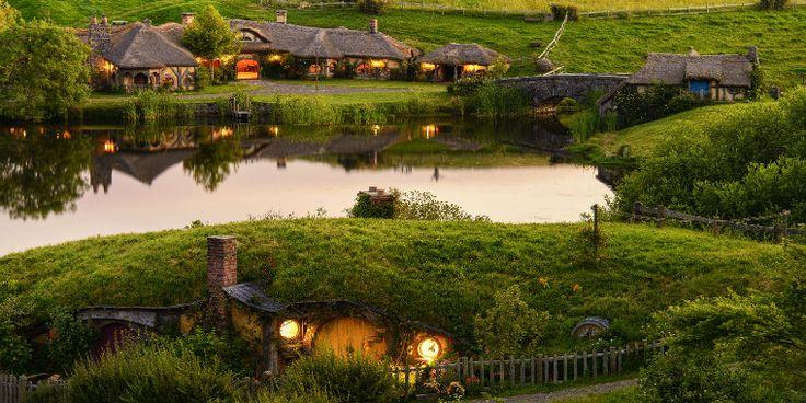 Hobbit Evleri-yeni zelanda
