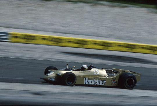Riccardo Patrese, Arrows-Ford A2, 1979 French GP, Dijon-Prenois