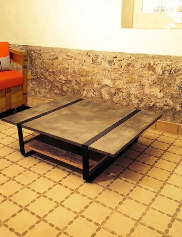 Mesas y butacas hechas a mano: piezas singulares de Smö Projects #mobiliario #reciclado www.viviendochic.com