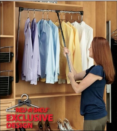 Pull Down Clothes Rod Closet Pull Down: 23 Best Pull Down Closet Rod Images On Pinterest