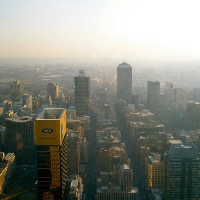 Johannesburg... Back in Africa!! What a thrill it was to step back on African soil! :)
