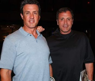Sylvester Stallone and Frank Stallone