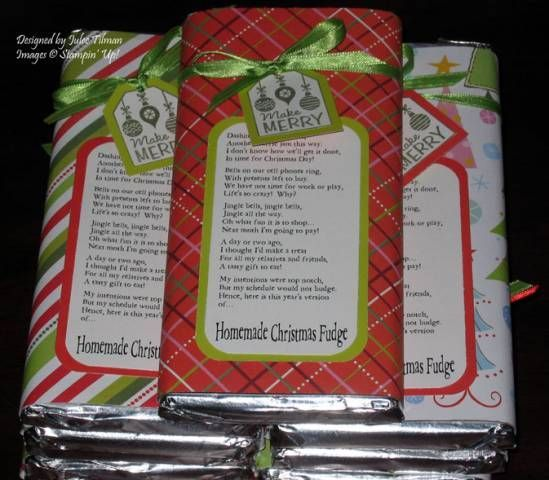 wedges shoes free shipping worldwide Christmas Fudge   adorably funny poem for candy bar wrapper