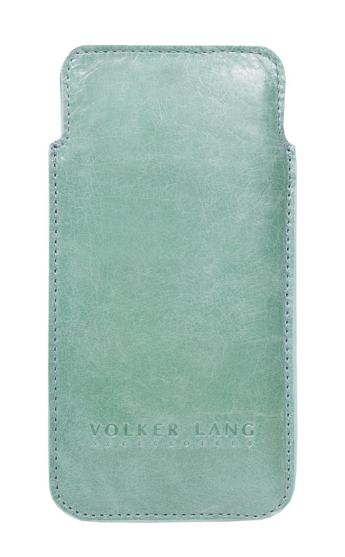 iPhone 6 Hülle aus Leder, vintage jade