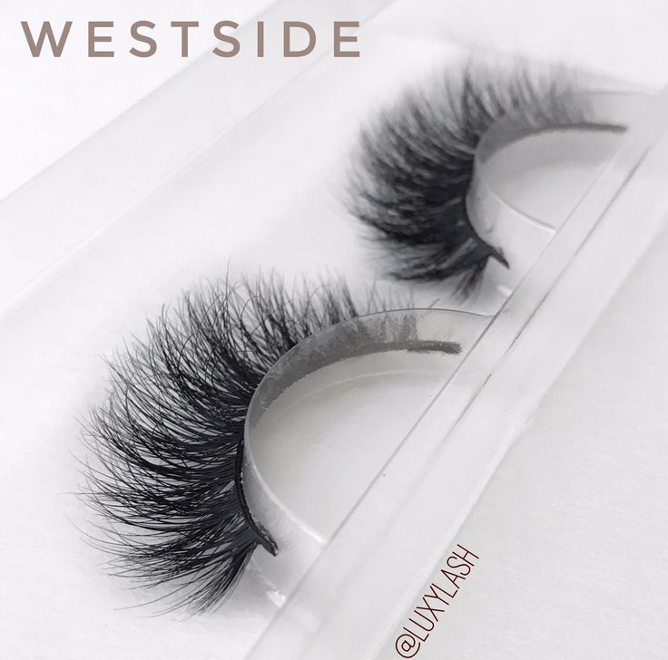 "#LuxyLash ""WESTSIDE"" Mink Lashes. The original, cruelty-free premium mink lashes! Reusable up to 25x! Get 30% off entire lash collection throughout NOVEMBER 2016 only. Enter promo code NOV30 at checkout! SHOP: www.luxy-lash.com"