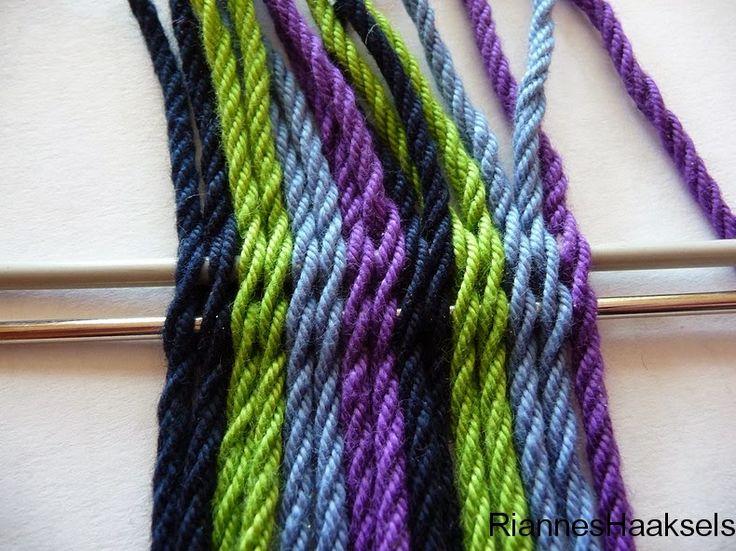 RiannesHaaksels: Ply split braiding tutorial