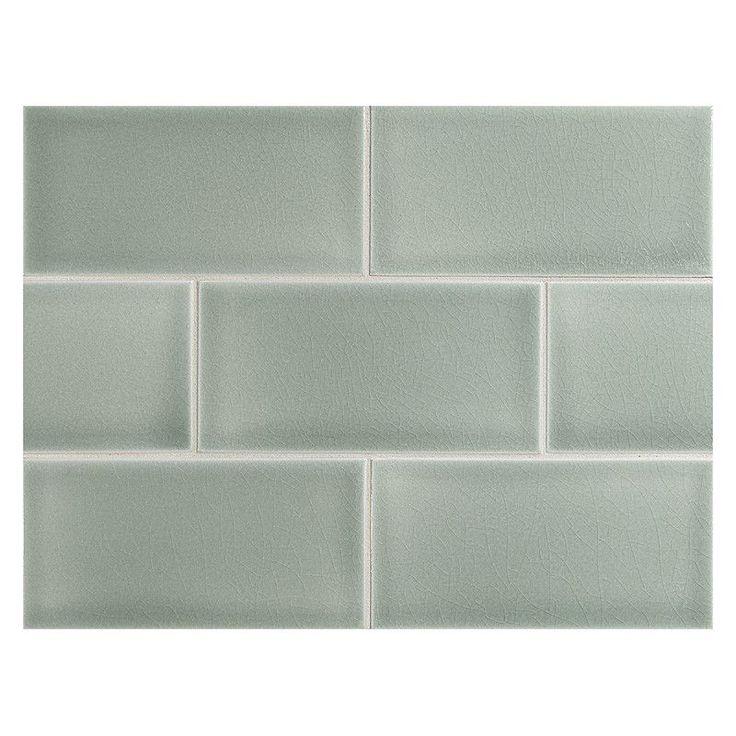 2x6 Ceramic Subway Tile Crackle Finish Http Www