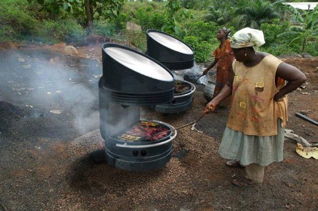 Professor desenvolve #churrasqueira que assa alimentos com energia #solar. http://catr.ac/p569915