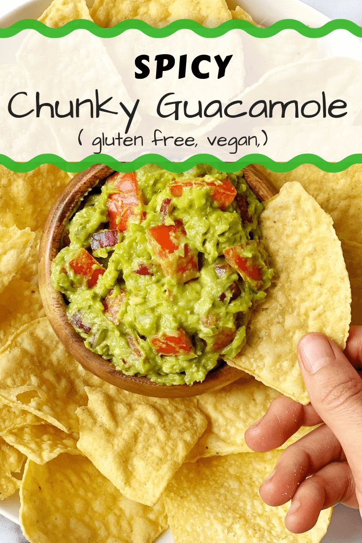 The BEST Spicy Guacamole
