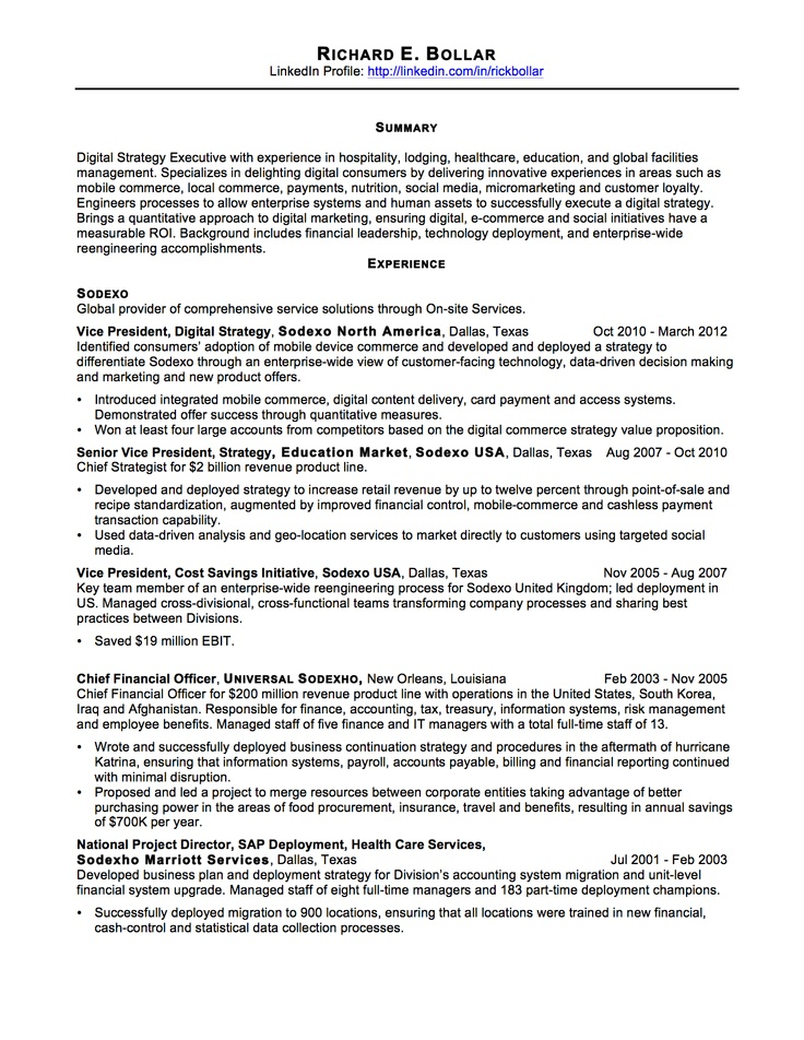 My resume, page 1. So, here's the thing... It's clear that