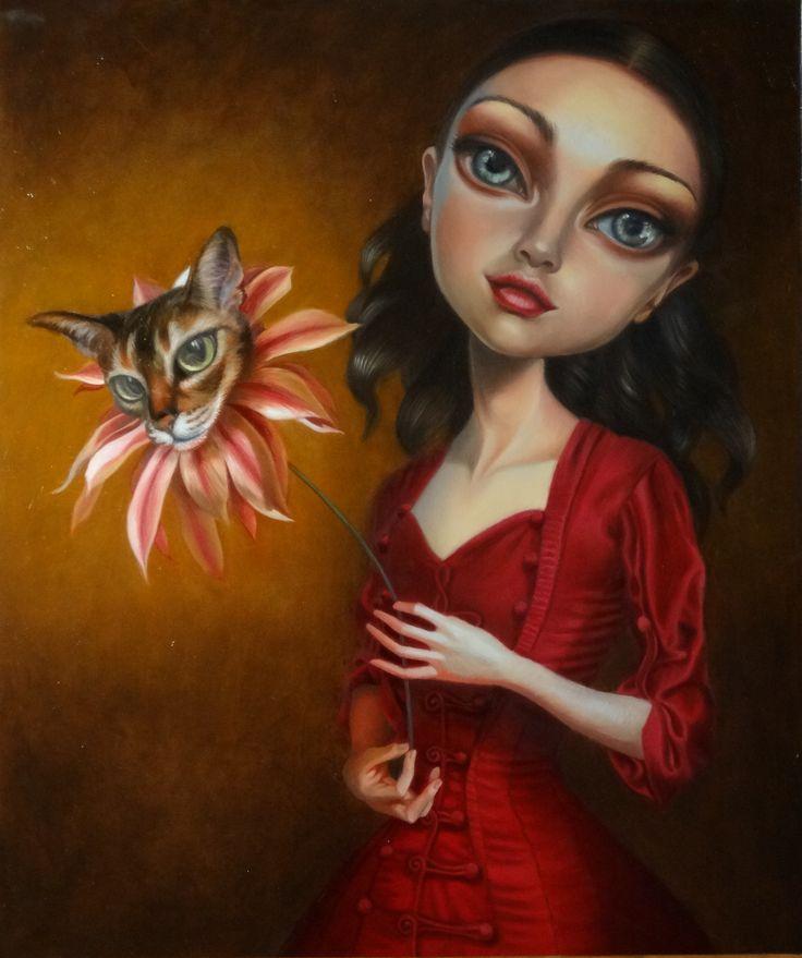Gattamelata, oil on canvas cm 50 x 60