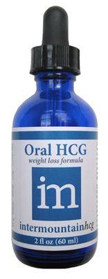 2 oz HCG Drops from Intermountain HCG
