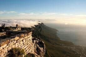 Tafelberg mit Sicht auf die 12 Apostel
