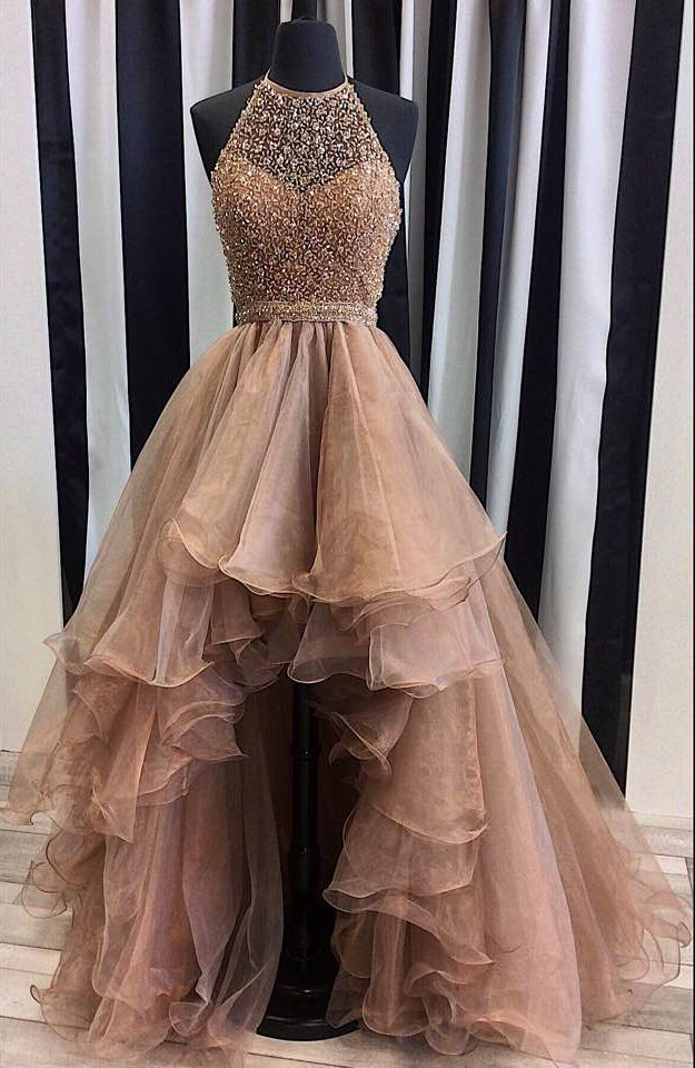 Hi lo prom dresses 2018 plus