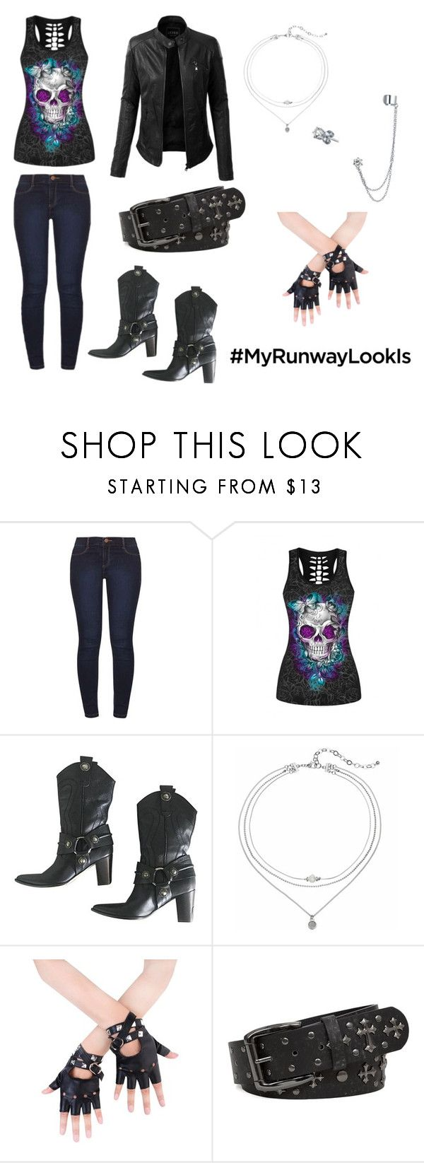 """Untitled #122"" by ziadvil on Polyvore featuring Dorothy Perkins, WithChic, LE3NO, Casadei, BKE, Bling Jewelry and MyRunawayLookIs"
