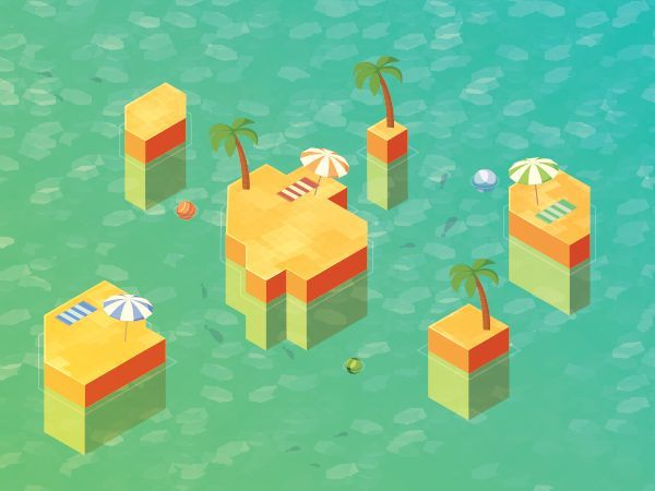 Animate an Isometric Vector Island With Adobe After