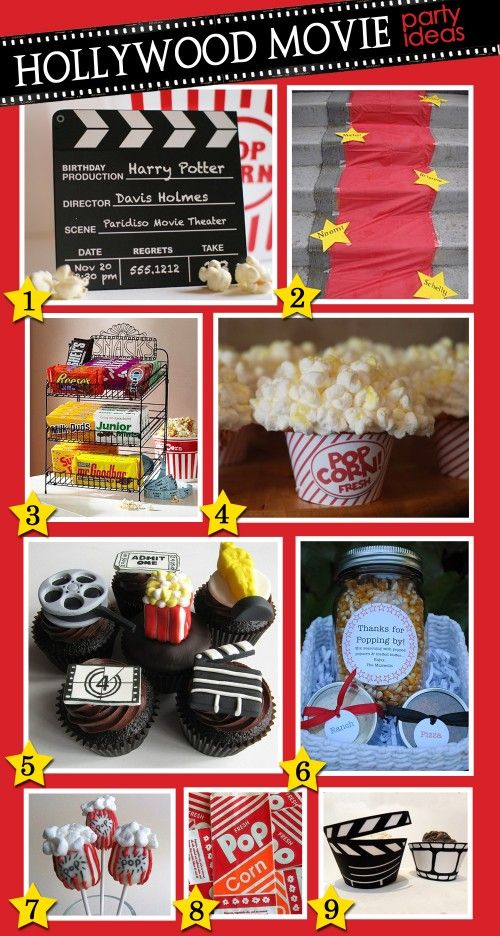 Birthday Party Ideas | Hollywood Movie Party — Simply Swanky