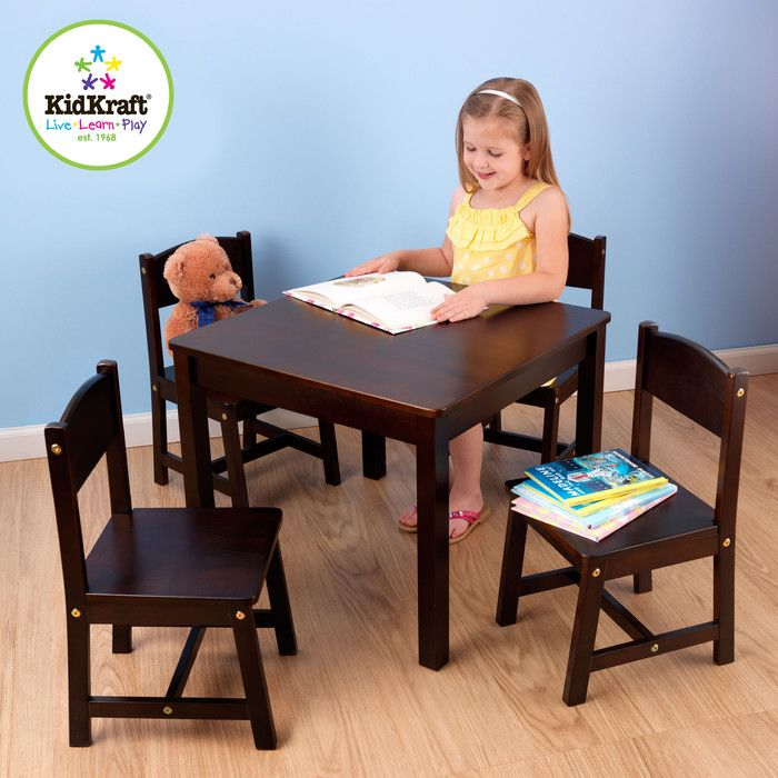 You'll love the Farmhouse Kids 5 Piece Table & Chair Set at Wayfair - Great Deals on all Furniture products with Free Shipping on most stuff, even the big stuff.