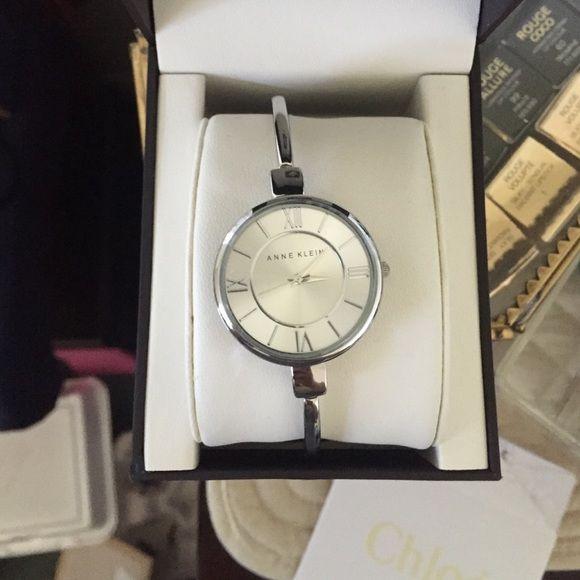 New Anne Klein Watch Really cute silver Anne Klein watch. New with tags and box. Anne Klein Accessories Watches