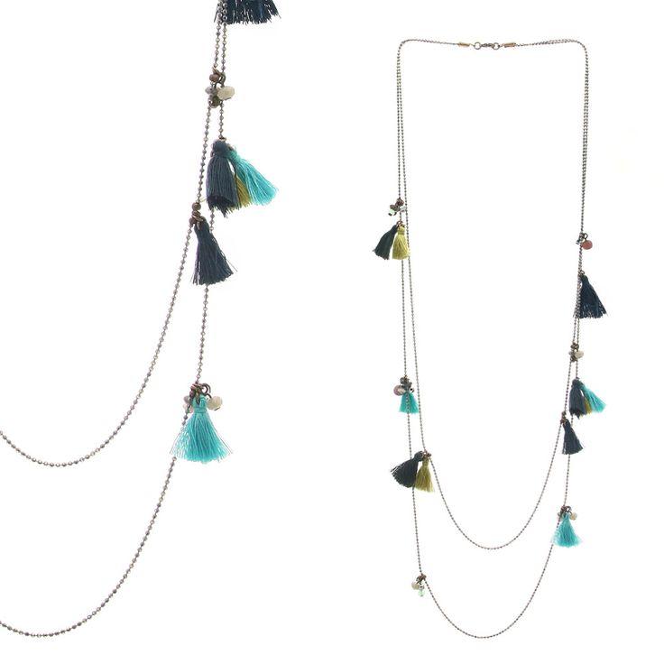 Favori Les 191 meilleures images du tableau DIY bijoux pompon sur  WO15