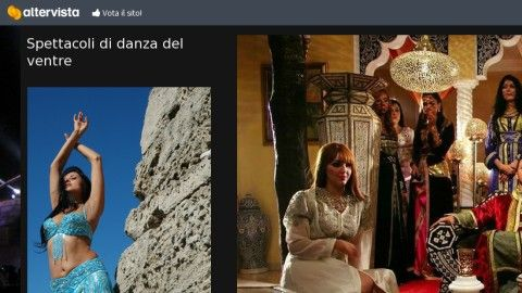 """Dettaglio sito """"danzadelventrepalermo"""""""