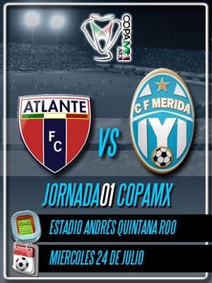 Jornada 01 Copa MX