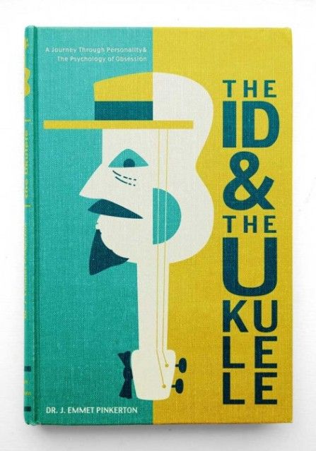 Fake psychology textbook cover, The Id and the Ukulele photo the-id-and-the-ukulele-textbook-470x672.jpg
